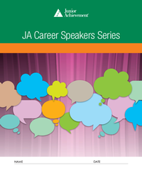 JA Career Speakers Series curriculum cover